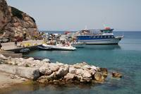 Kamiros Skala port in Rhodes
