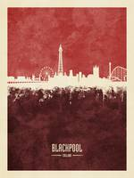 Blackpool England Skyline