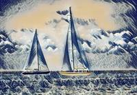 Sailing - The Great Wave Inspiration