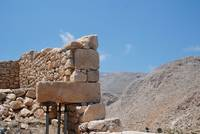 Ancient retaining wall, Halki