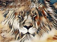 The King Lion Portrait