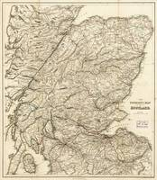 The Tourist's Map of Scotland (c 1855)