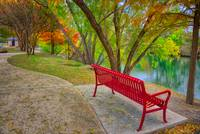 A Colorful Stop Along Boerne's River Walk