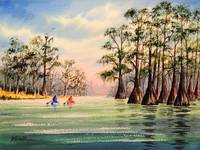 Canoeing The Suwannee River Florida