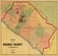 Map of Orange County, California (1889)