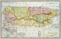 Map of Porto Rico (Puerto Rico) 1898