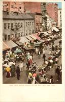 New Jewish market on the East Side, New York 1904