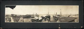 Panoramic view of P.R.R. Co.'s Pier 4 1909