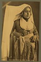 Young Arab woman of the Cedars of Mount Lebanon c1