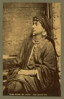 Young Arab woman, half-length portrait c1889 by Ta