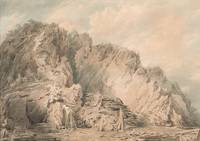 A Slate Quarry in Wales, c.1798 by Joseph Mallord