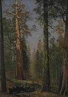 Albert_Bierstadt_-_The_Grizzly_Giant_Sequoia,_Mari