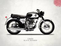The Honda CB450 Black Bomber