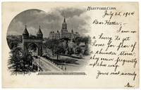 Postcard from Hartford 1904