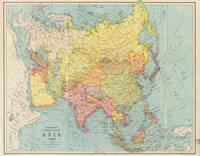 Bartholomew's general map of Asia (circa 1940-1949