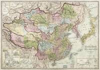 Map of the Chinese Empire (1847)