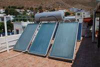 Solr heating panels, Tilos