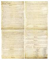 Original Scan of the United States Constitution Pa