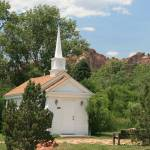"""Church, Garden of the Gods"" by peacockPhotography"