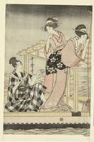 Nightly fishing, Kitagawa Utamaro, 1795 - 1800 b