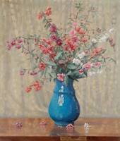 Still lLife with Wild Flowers by Ernest Moulines (