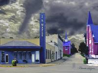 Winchester KY W Broadway Fine Art Canvas or Paper