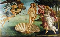 The Birth of Venus by Sandro Botticelli (1485)