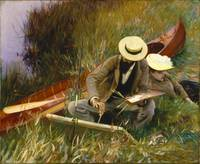 An Out-of-Doors Study by John Singer Sargent (1889