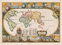 World Map by Joseph Moxon (1681)