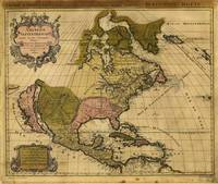 Amerique septentrionale North America Map (1694)