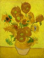 Sunflowers by Vincent van Gogh (1888)