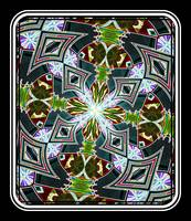 Kaleidoscope Sharp Green & Black