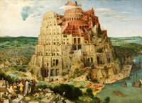 The Tower of Babel by Pieter Bruegel the Elder (15