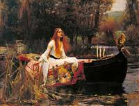 The Lady of Shalott by John William Waterhouse (18