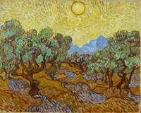 Olive Trees by Vincent van Gogh (1889)