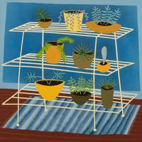 Botanical: Plant Stand 3 (Painting)