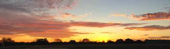 Texas Sunrise Panorama