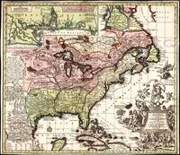 Map of America (1734)