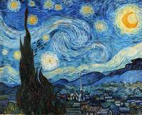 Vincent Van Gogh Starry Night Art