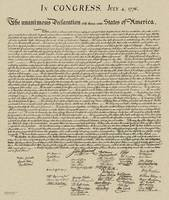 Declaration of Independance (Enhanced Copy, 2018)