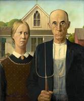 American Gothic by Grant Wood (1930)