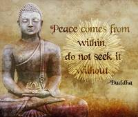 Buddha - Peace Comes From Within