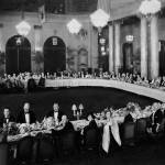 """Banquet for Hollywood Stars, Garden Court of the P"" by worldwidearchive"
