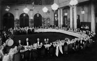 Banquet for Hollywood Stars, Garden Court of the P by WorldWide Archive