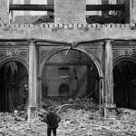 """""""Palace Hotel after the Earthquake and Fire, 1906"""" by worldwidearchive"""