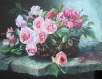 Floral Painting Contemporary