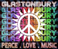 Glastonbury Peace Love Music