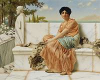 In the Days of Sappho by John William Godward (190
