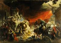The Last Day of Pompeii by Karl Bryullov (1830–183