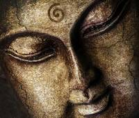 The Peaceful Face Of Buddha